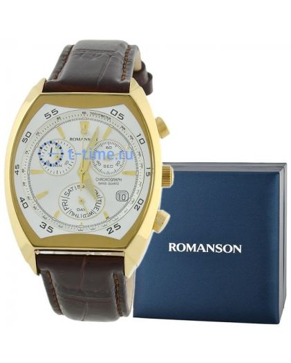 Часы ROMANSON DL 4141H MG(WH)