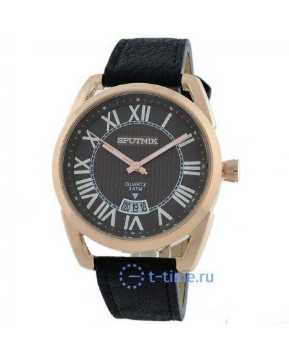 Часы СПУТНИК 400560 М корп-роз, циф-кор