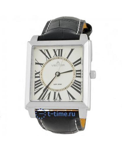 Часы Мужские VECTOR 055515-V8 кор-хр, циф-сер