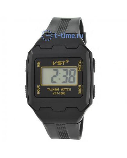 VST 7003 (говорящие,будильник) 200 часы эл. наручные