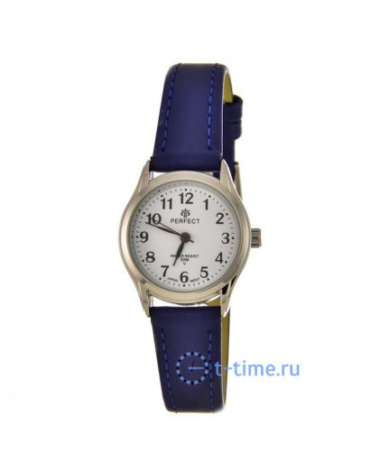 PERFECT LX009 корп-хром циф-бел син.рем наручные часы