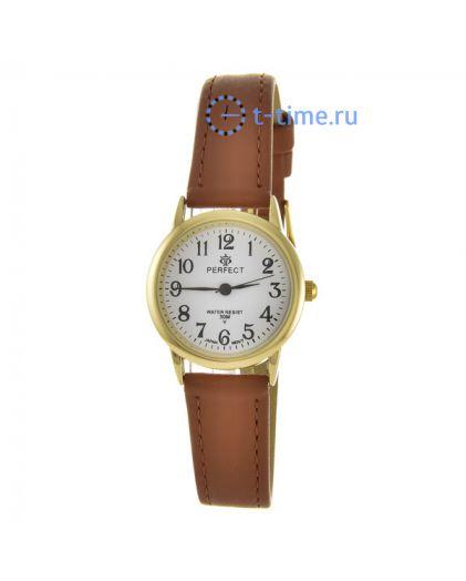 PERFECT LX052 корп-жел циф-бел кор.рем наручные часы