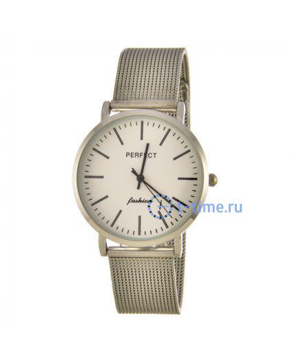 PERFECT E345 корп-хр циф-сер с черн сетка наручные часы