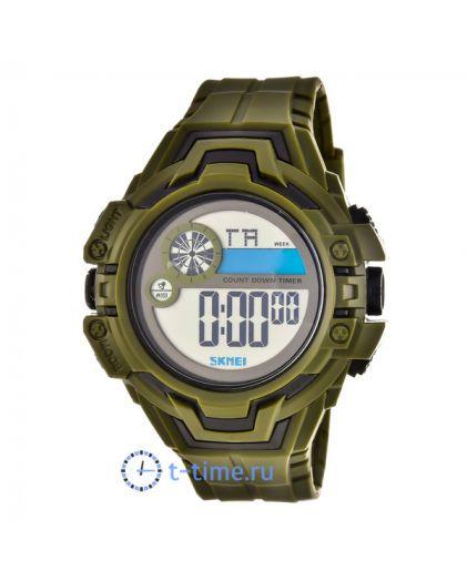 Skmei 1446AG army green наручные часы