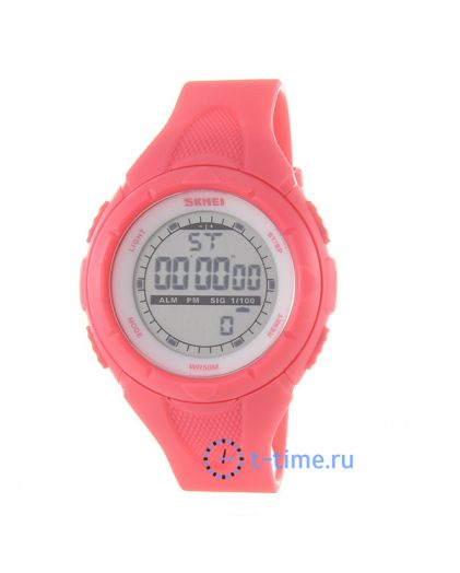 Skmei 1074RS lady size rose red