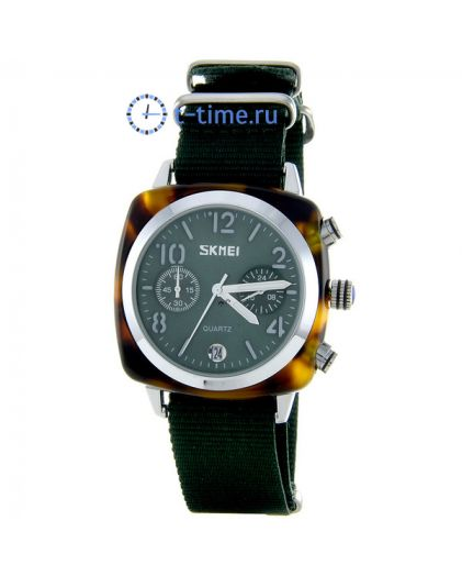 Skmei 9186 silver/green