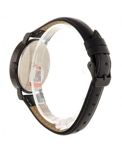 Skmei 1489LBK black leather belt