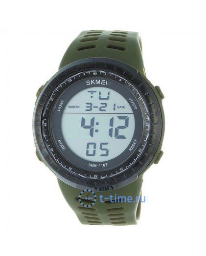 Skmei 1167AG army green