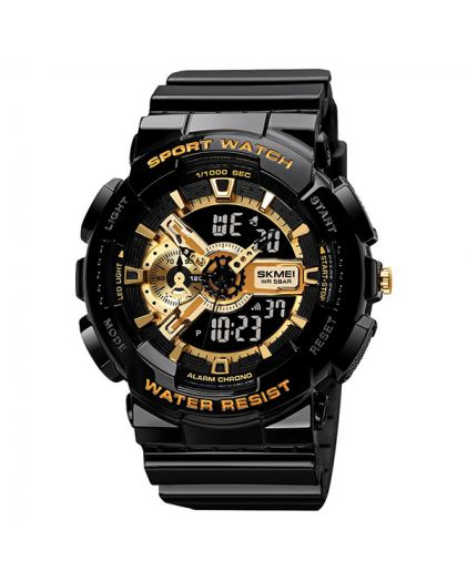 Skmei 1688 black/ gold