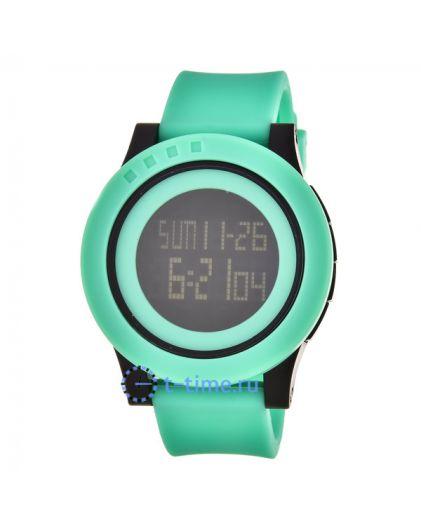 Skmei 1193GN green (green belt) наручные часы