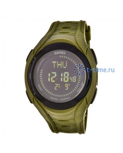 Skmei 1314AG army green наручные часы