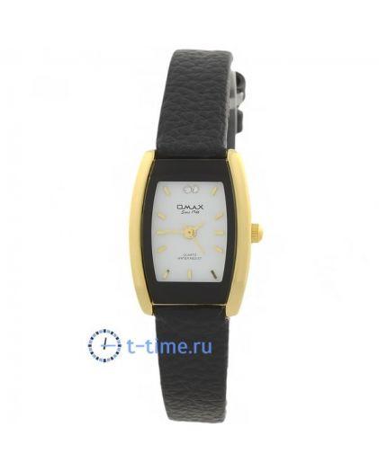 OMAX CE0020-gold бел-циф, об чер