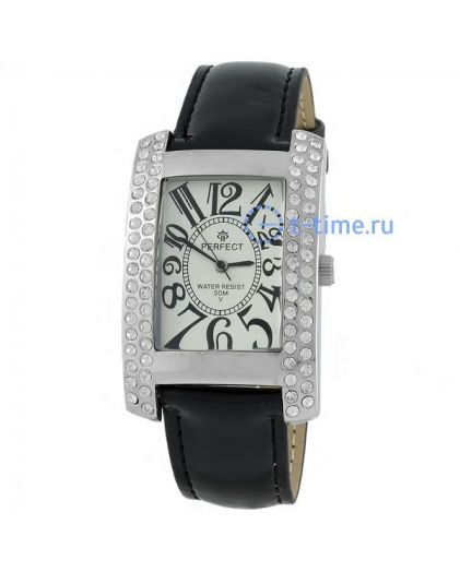 Часы PERFECT 160 J корп-хр,циф-бел