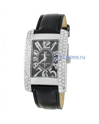 Часы PERFECT 160 J корп-хр,циф-чер.