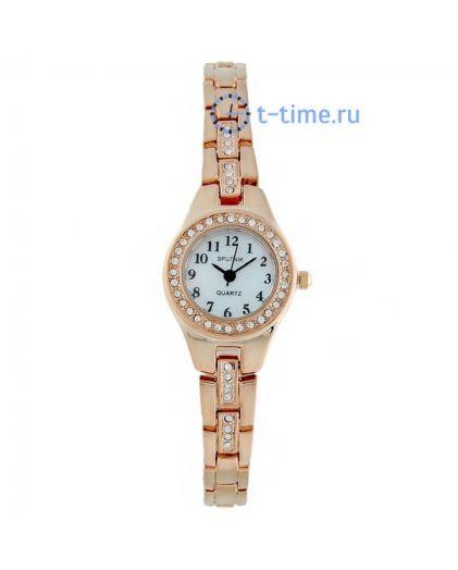 Часы СПУТНИК 900600 Л корп-роз, циф-перл