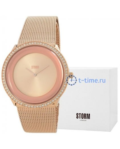 STORM zuzori crystal rose gold 47374/rg