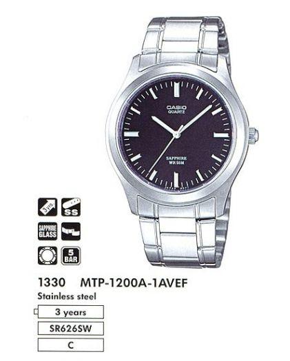CASIO MTP-1200A-1A