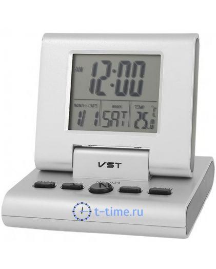 Часы Vst VST7059 часы эл.(буд., темп.,говорящие, дата)-90