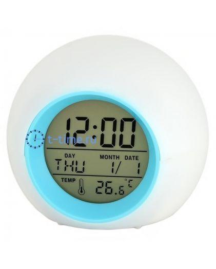 Часы Орбита H133 (тепмер.,дата, будильник, подсветка)100