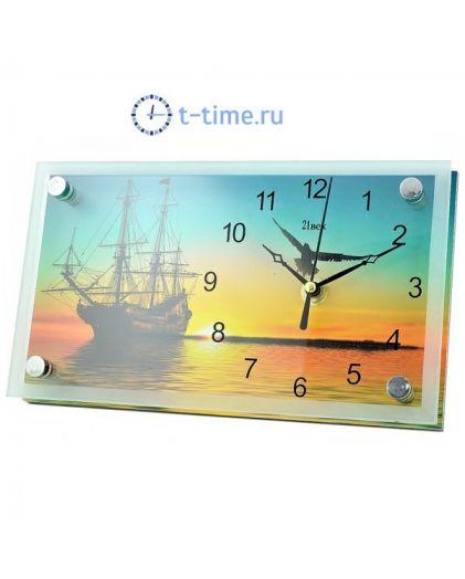 Часы 21 век 1323-635 (13х23) настольные