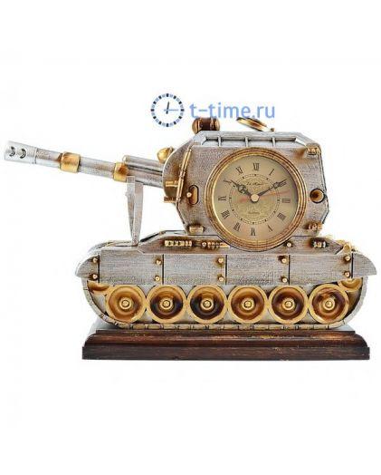 Часы La minor 1402M статуэтка (часы + термометр)