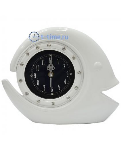 Часы La minor 8087-Т white статуэтка