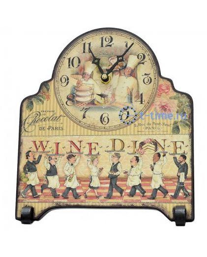 Часы Михаил москвин Ужин (настольные)