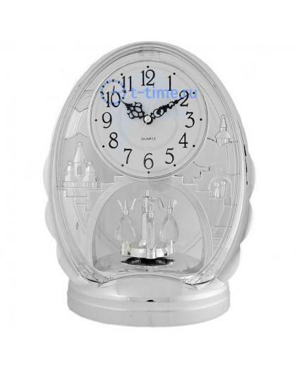 Часы La minor 928 silver с маятником