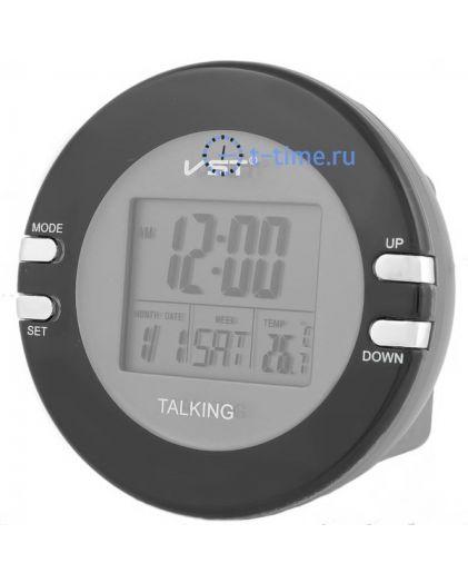 Часы Vst VST7026 часы эл.(буд., темп., говорящие,дата)-80