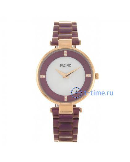 Pacific X6119 корп-роз циф-перл фиол браслет