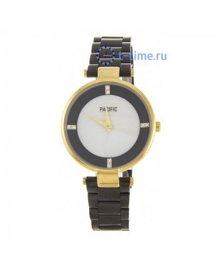 Pacific X6119 корп-золот циф-перл черн браслет