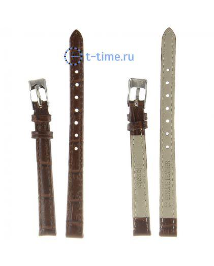 Nagata 10 мм т.кор croco с серебряной застёжкой ремень