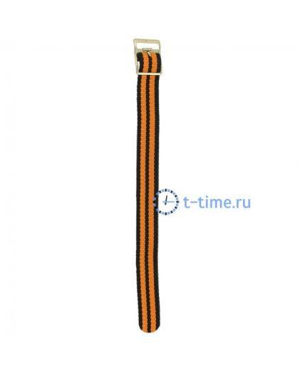 Perfect Ремешок чер-оранж 18 мм капрон