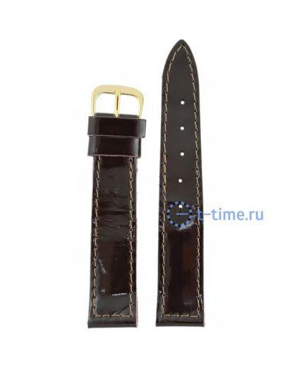 №42 мод. 18 мм фиолет лак Знамя ремешок