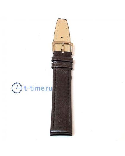 16 мм Ремешок т.коричневый xxl Perfect