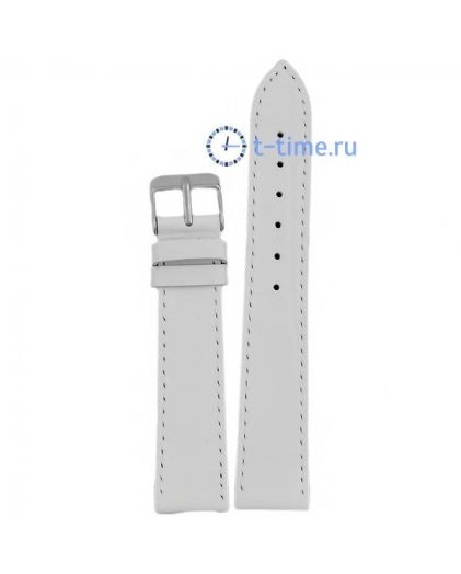 18 мм croco бел плоский ARDI ремень