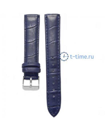 18 мм ремень 725 croco син
