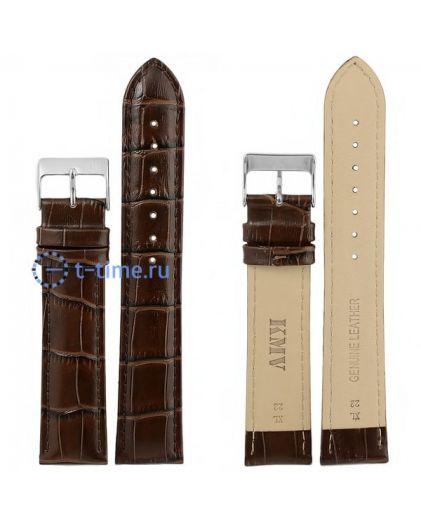 "Ремень ""KMV"" S-11, 22 р-р, т-коричневый, XL"