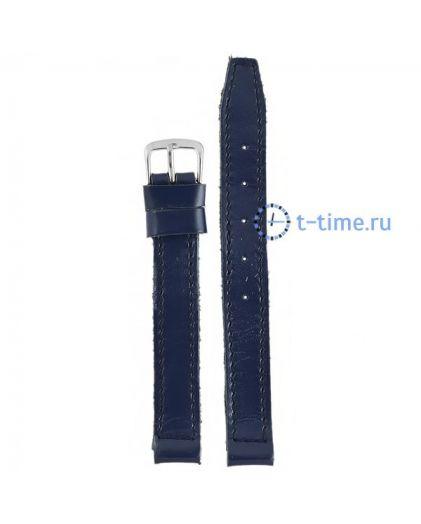 №242 мод. 12 мм темн-син лак Знамя ремешок
