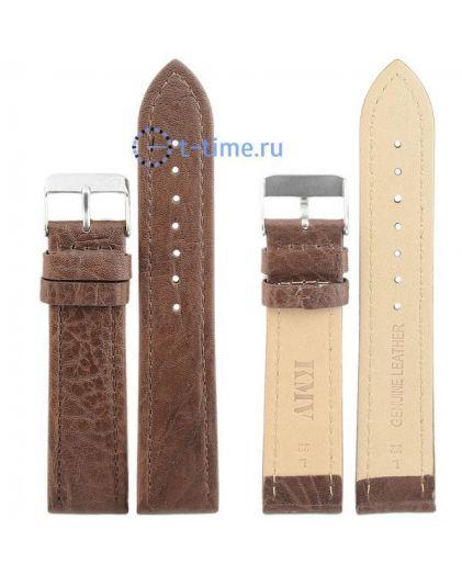 "Ремень ""KMV"" S-10, 22 р-р, т-коричневый, L"