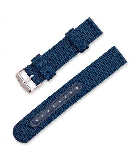 Ремешок текстильный 20 мм синий