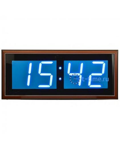 Часы сетевые Гранат C-4009-Син сетевые настенные