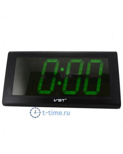 VST795-4 часы зел.цифры-10