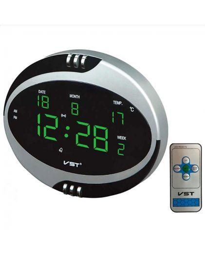VST770T-4 часы 220В зел.цифры+блок/22/44
