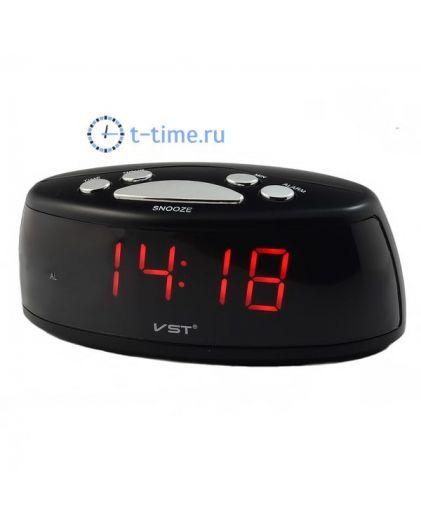 VST773-1 часы 220В крас.цифры/40