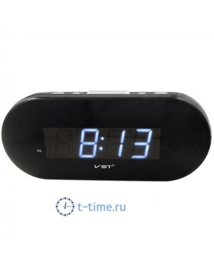 VST 715-6 часы 220В син.цифры-40