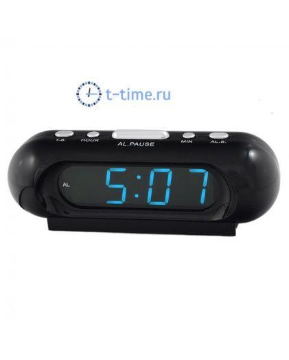 VST 716-5 часы 220В син.цифры-40