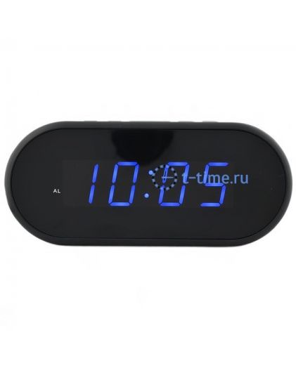 Часы сетевые Vst VST712-5 часы 220В син.цифры-40