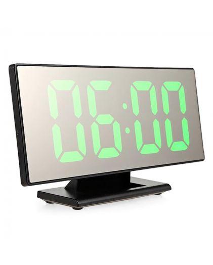 Часы 3618-4 зеленые цифры