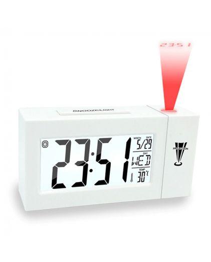 Часы настольные 618 DS WHITE